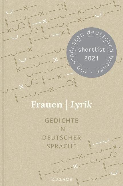 Frauen   Lyrik. Gedichte in deutscher Sprache -
