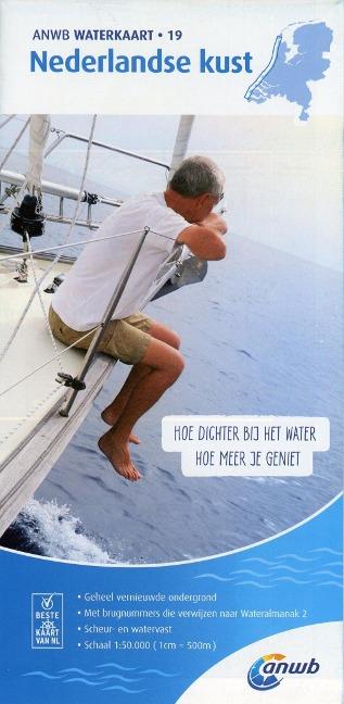 Nederlandse Kust 1:50 000 Waterkaart -