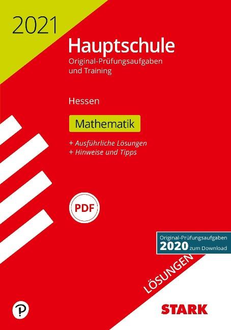 STARK Lösungen zu Original-Prüfungen und Training Hauptschule 2021 - Mathematik - Hessen -