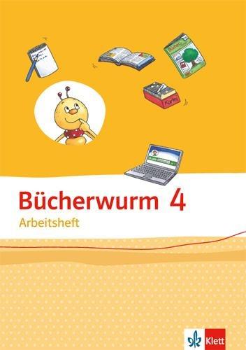 Bücherwurm Sprachbuch 4. Ausgabe Berlin, Brandenburg, Mecklenburg-Vorpommern, Sachsen, Sachsen-Anhalt, Thüringen -