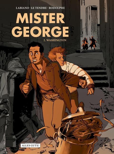 Mister George, Band 2. Washington - Serge Le Tendre, Rodolphe
