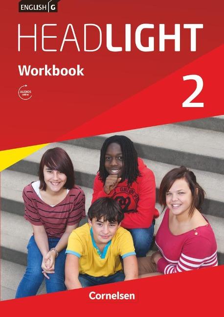 English G Headlight 02: 6. Schuljahr. Workbook mit Audios online - Gwen Berwick, Sydney Thorne