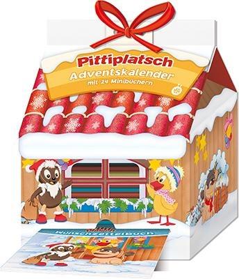 Trötsch Unser Sandmännchen Adventskalender Haus mit 24 Minibüchern Pittiplatsch
