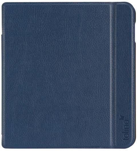 tolino vision 5 - Tasche Slim Blau -