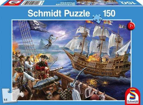Abenteuer mit den Piraten, 150 Teile - Kinderpuzzle -