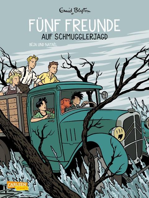 Fünf Freunde 4: Fünf Freunde auf Schmugglerjagd - Enid Blyton, Nataël