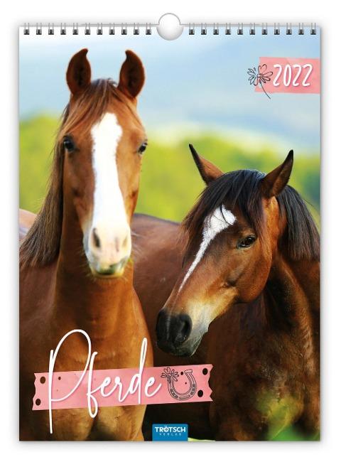"""Classickalender """"Pferde"""" 2022 -"""