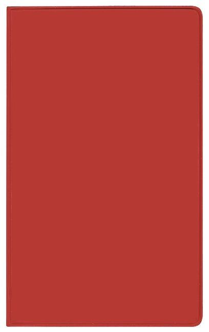 Taschenkalender Modus XL geheftet PVC rot 2022 -