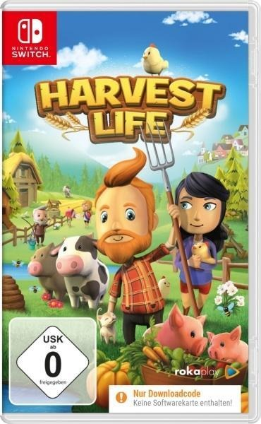 Harvest Life (Nintendo Switch) (Code in a Box) -
