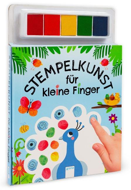 Stempelkunst für kleine Finger -
