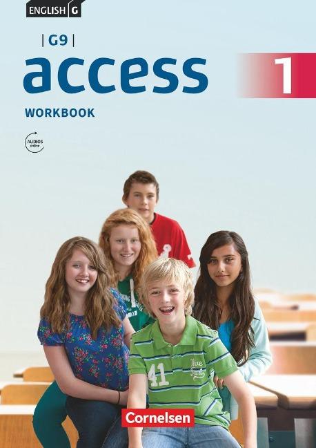 English G Access - G9 - Band 1: 5. Schuljahr - Workbook mit Audios online und MyBook - Peadar Curran, Jennifer Seidl