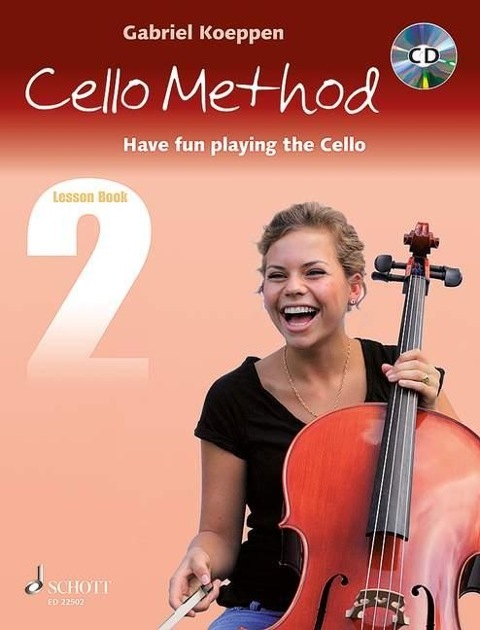 Cello Method. Lesson Book 2. Lehrbuch mit CD - Gabriel Koeppen