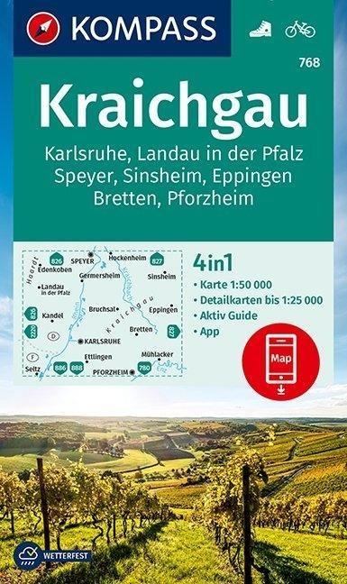 KV WK 768 Kraichgau, Karlsruhe 1:50 000