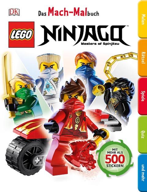 Das Mach-Malbuch. LEGO® NINJAGO®