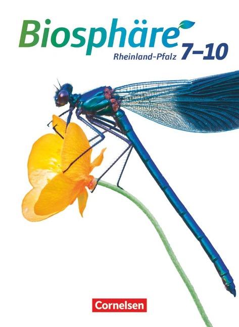 Biosphäre Sekundarstufe I 7.-10. Schuljahr. Schülerbuch Gymnasium Rheinland-Pfalz - Silke Hübner, Gabriele Merk, Kathrin Scholz