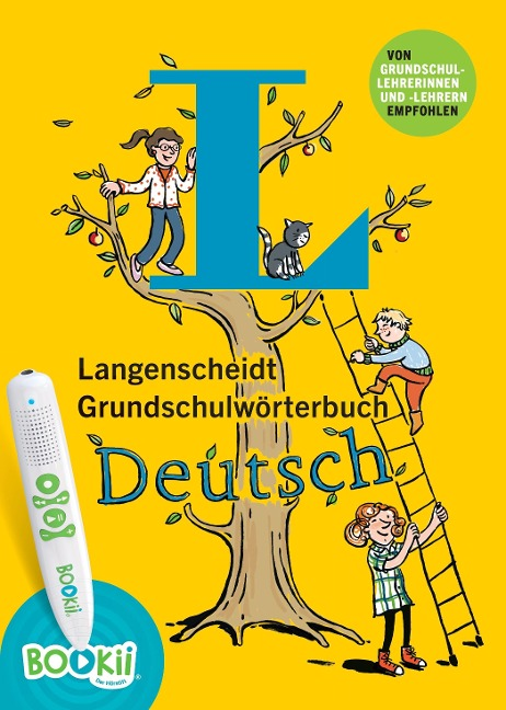 Langenscheidt Grundschulwörterbuch Deutsch - Buch mit BOOKii-Hörstift-Funktion - Gila Hoppenstedt, Karen Richardson