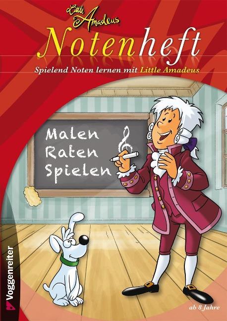 Little Amadeus Notenheft -