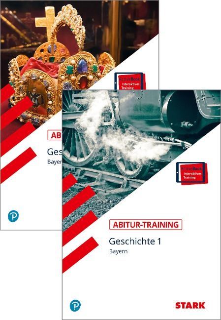 STARK Abitur-Training - Geschichte Band 1 + 2 - Bayern - Johannes Werner, Petronilla Ehrenpreis, Bert Freyberger, Heinrich Müller