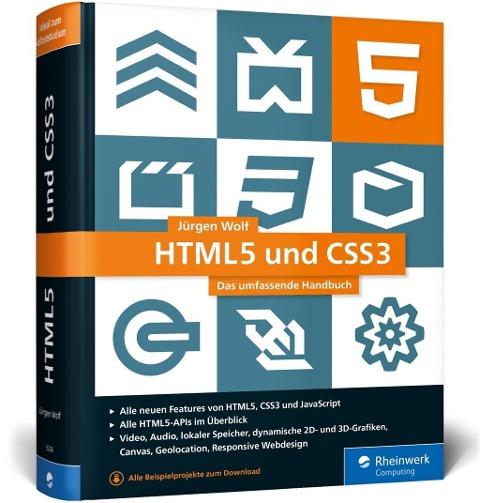 HTML5 und CSS3 - Jürgen Wolf