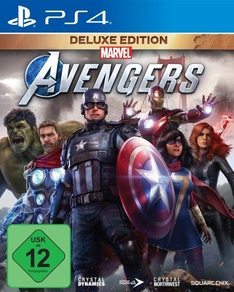 Marvel's Avengers Deluxe Edition (PlayStation PS4) -