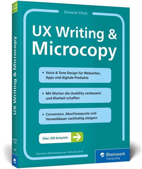 UX Writing & Microcopy - Kinneret Yifrah