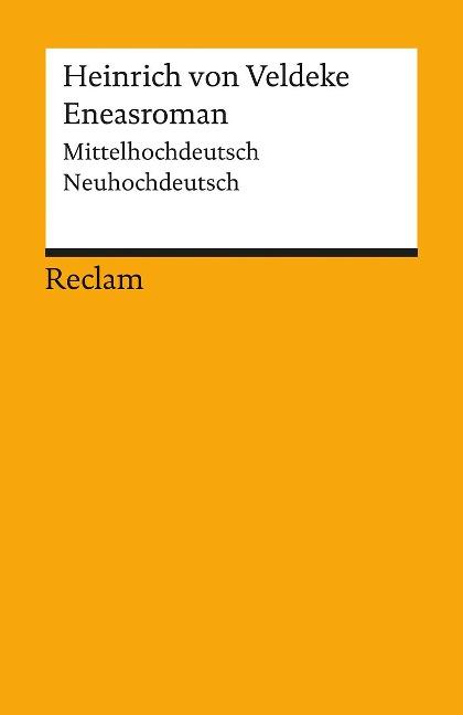 Eneasroman - Heinrich von Veldeke
