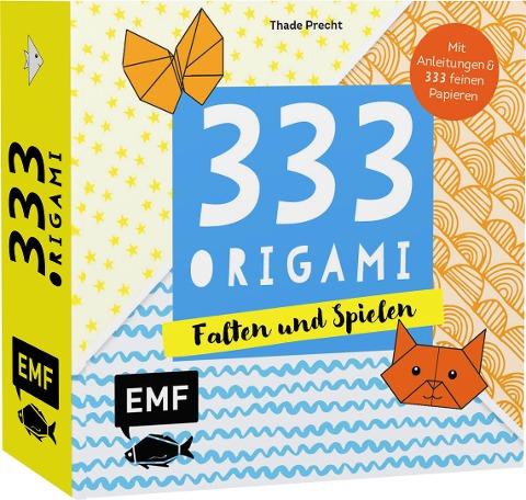 333 Origami - Falten und Spielen - Thade Precht