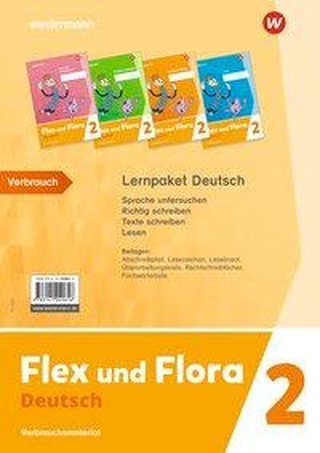 Flex und Flora 2. Deutsch. Paket. Verbrauchsmaterial -