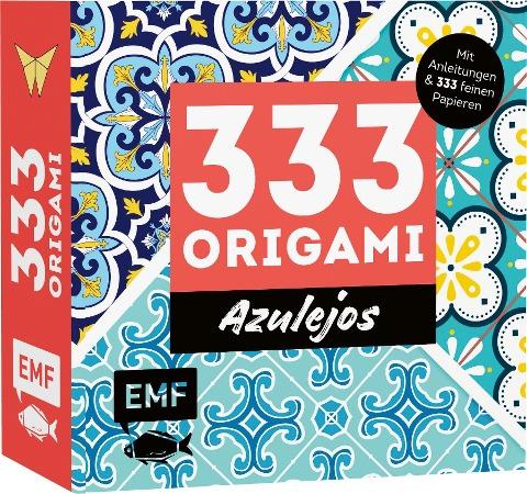 333 Origami - Azulejos: Zauberhafte Muster, marokkanische Farbwelten -