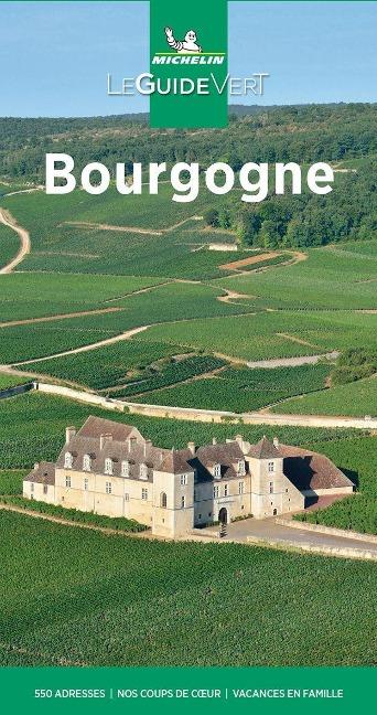 Michelin Le Guide Vert Bourgogne -