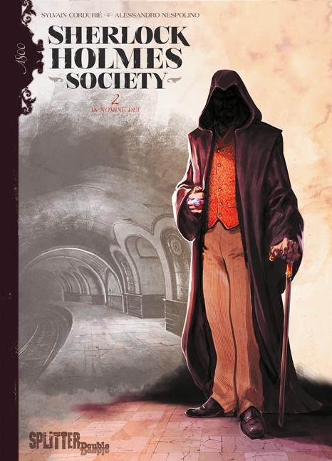Sherlock Holmes - Society 02. In Nomine Dei - Sylvain Cordurié