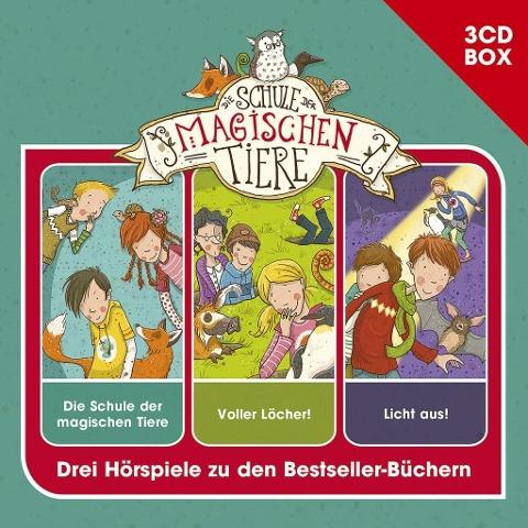 Schule der magischen Tiere - Hörspielbox Vol. 1 - Die Schule der magischen Tiere