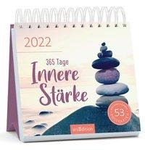 Postkartenkalender 365 Tage Innere Stärke 2022 -